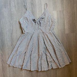 Plus Size Gingham Dress